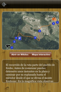 Captura de pantalla ForestApp